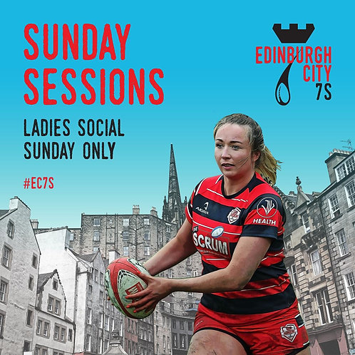 ladies sunday sessions (social cup - sunday only)