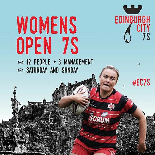 women's open 7s - £1000 cash prize