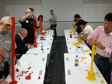 LEGO: Learning through Play, and earthquakes
