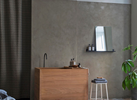 「バスルームでリラックス」BO BEDRE 2020年2月号