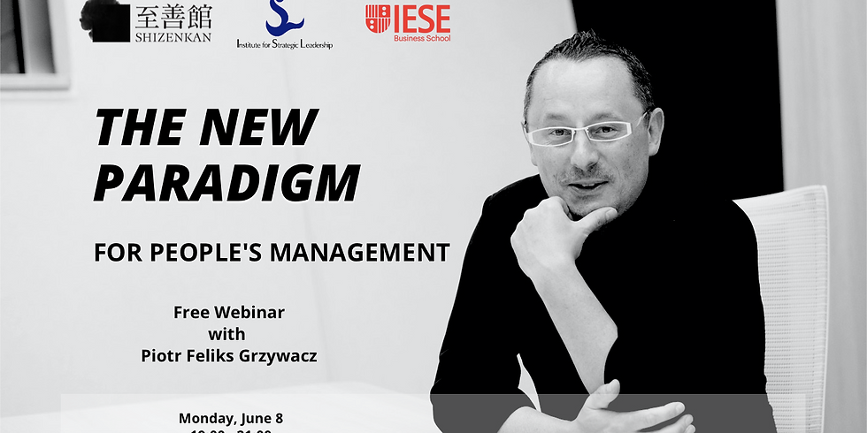 The New Paradigm for People's Management