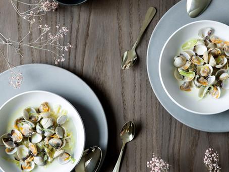 「チリと柚子風味のアサリの蒸し物」BO BEDRE 2020年2月号