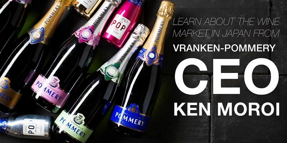 Joint Chambers Networking Event organized by CLIC: Vranken Pommery – The Wine Market in Japan