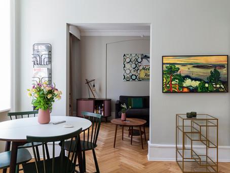 「私のインテリジェントなアパート 」BO BEDRE 8月号2020