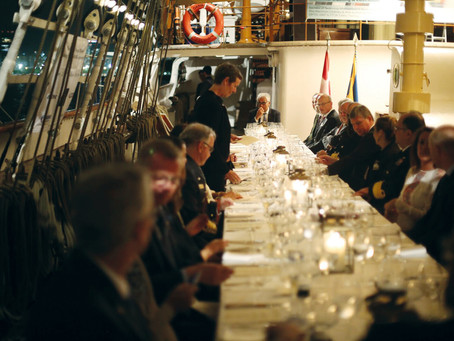 Reserve your own reception on Training Ship DANMARK during Tokyo Olympics 2020