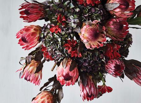 「花を使った魅力的な作品」BO BEDRE 2019年12月号