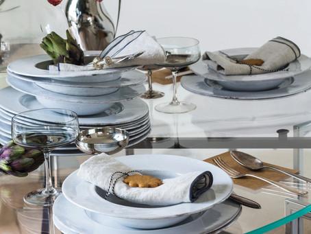 「スウェーデンスタイルのクリスマステーブル」BO BEDRE 2019年11月号