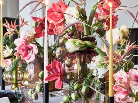 「アマリリス - たくさんの名前を持つ花 」BO BEDRE 11月号2020