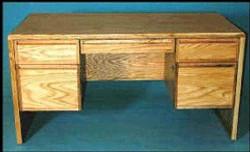 1110 Double Pedestal Desk
