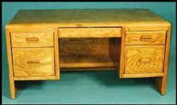 1210 Double Pedestal Desk