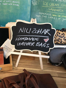 Nili Zohar collaborates with other artists and designers on a special day.