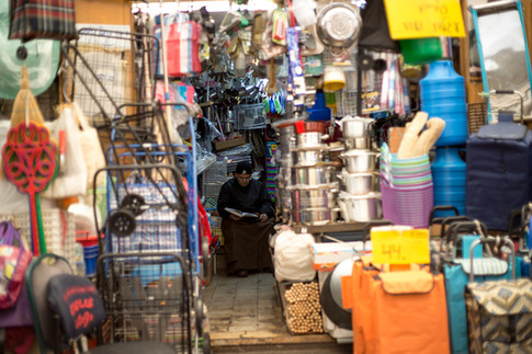 שוק מחנה יהודה - צילום אומנותי
