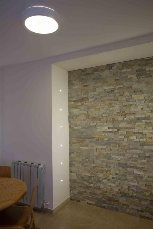 קיר דקורטיבי בסלון