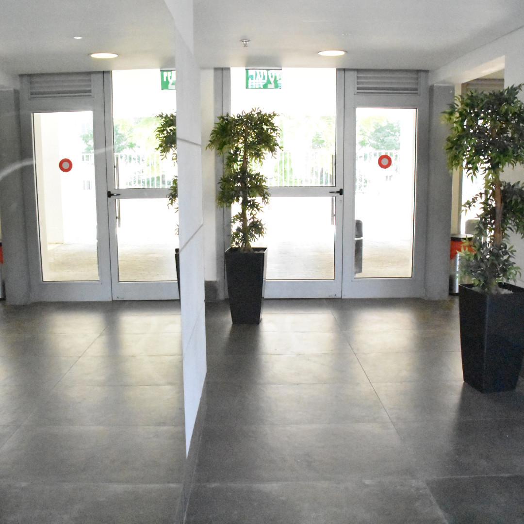 לובי כניסה לבניין משותף