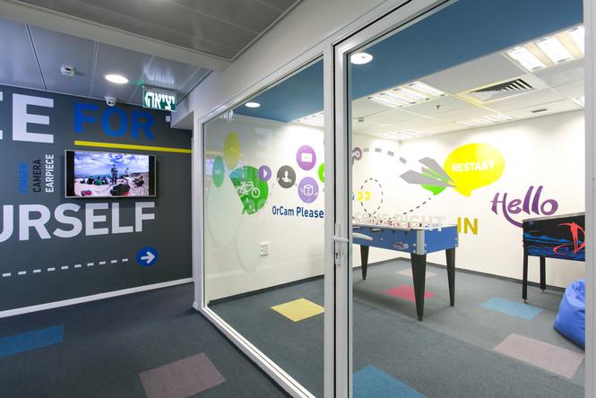 עיצוב משרדים -משרדי חברת אורקם