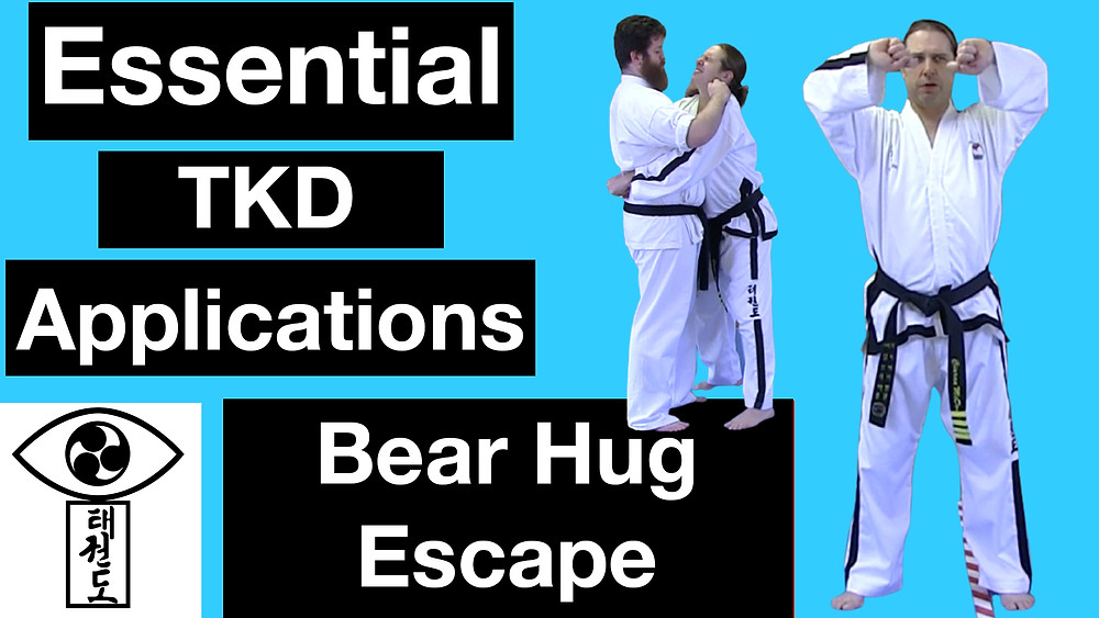 TKD Escape from a Bear hug - Old School Perspectives
