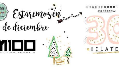 Estaremos con Feria 30 Kilates edición Navidad :)
