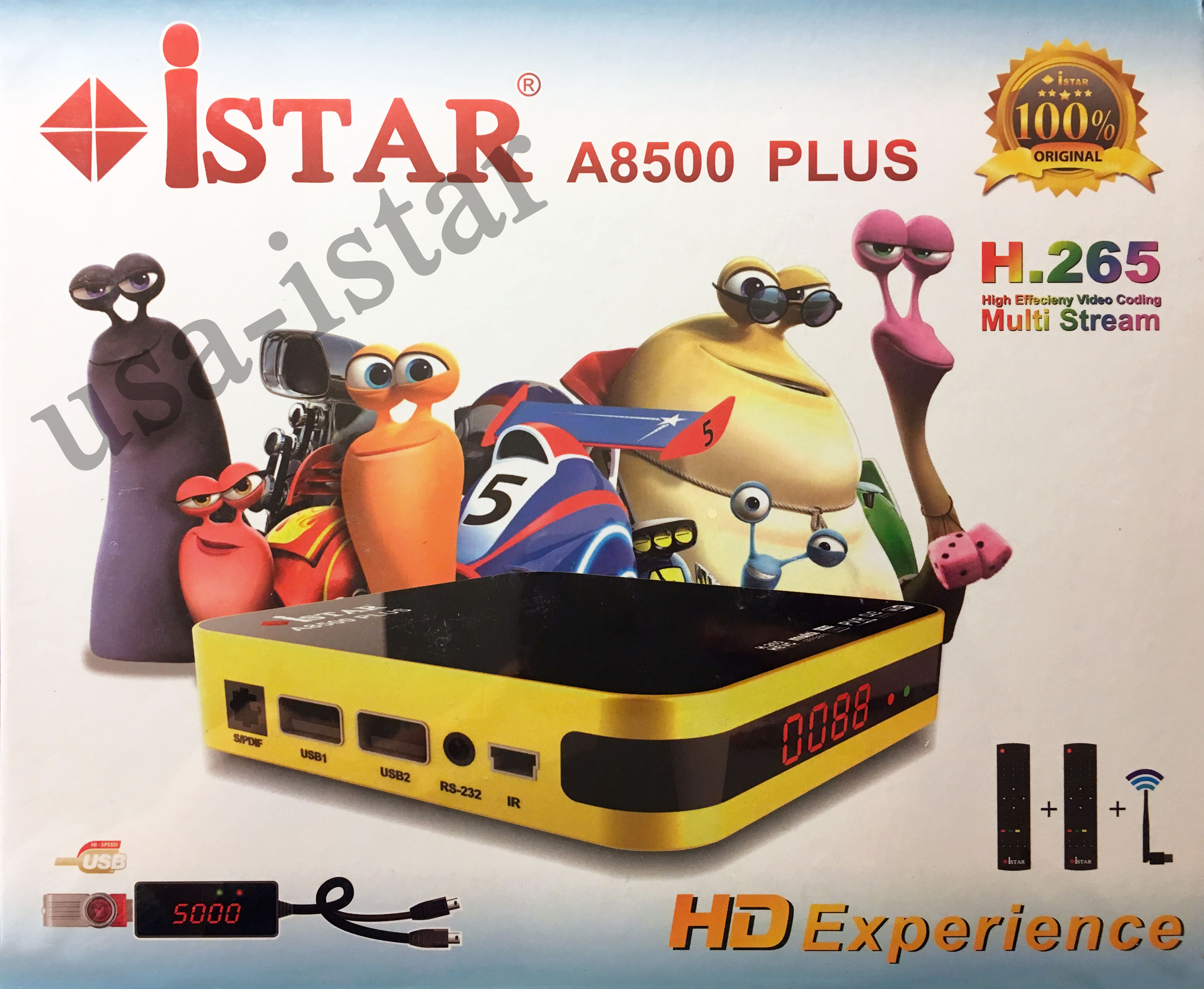 iStar A8500 Plus with 6 Months Free Online TV Subscription