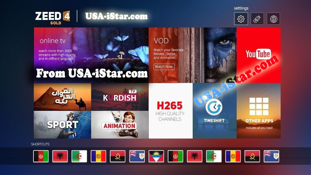 iStar Zeed 4 OTT with One Year Free Subscription