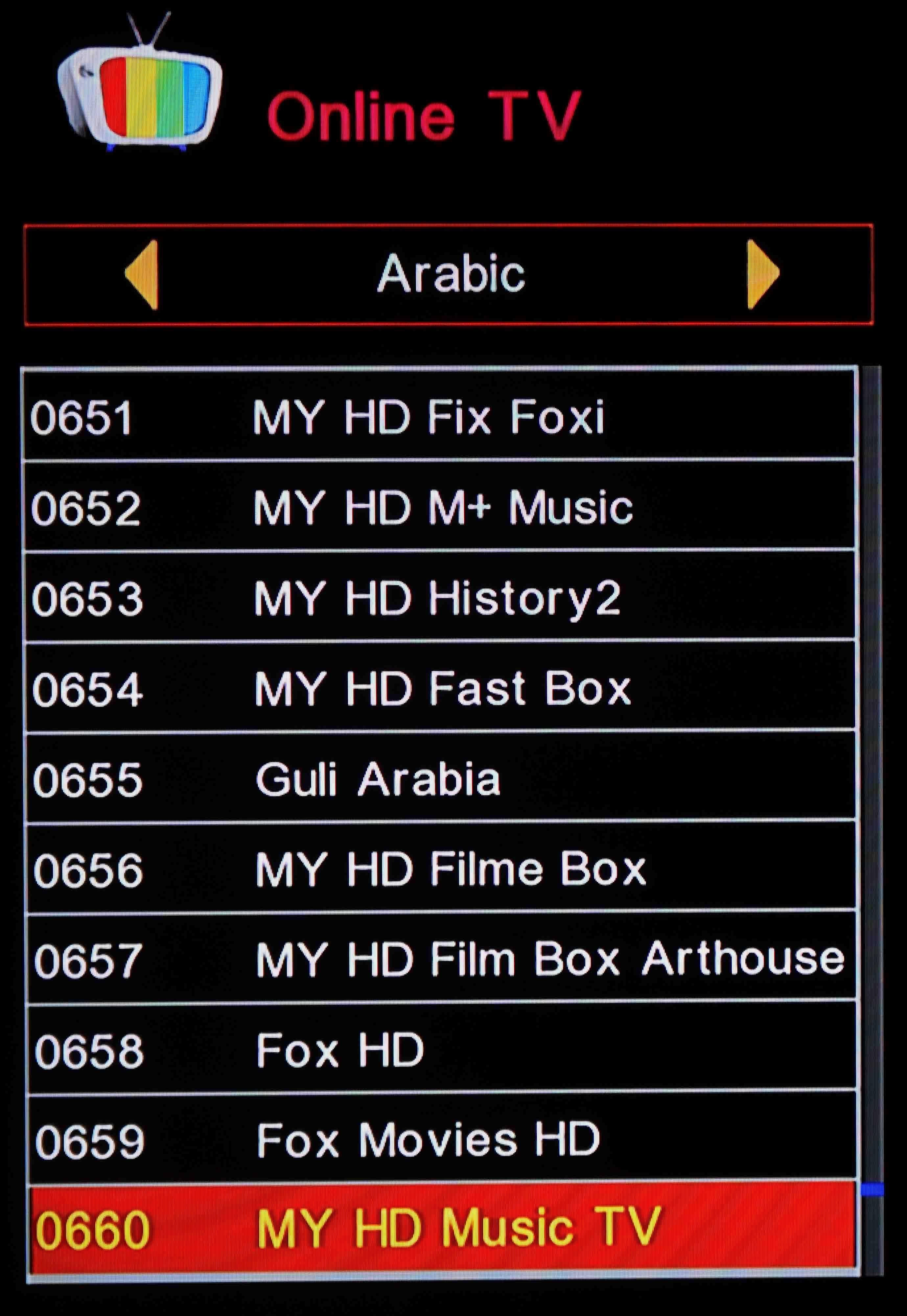 Fox movies arabic schedule