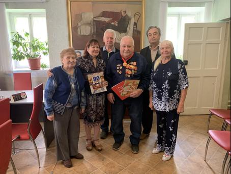 Салаватские коммунисты поздравили с днём рождения ветерана партии Коростелёва  Юрия Семёновича