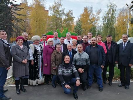 17 октября 2019г. Коммунисты из Салавата посетили  ЗАО Совхоз им. В.И. Ленина