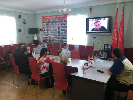 В  городском комитете КПРФ  г.Салават состоялась политическая учёба