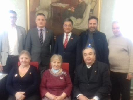 Первый секретарь БРО КПРФ Кутлугужн Ю.Г. принял участие в заседании бюро Салаватского ГК КПРФ.