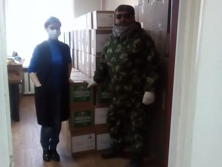 3 мая 2020 года, в рамках проводимой Акции «Продукты Башкортостана», прибыла машина с продуктами