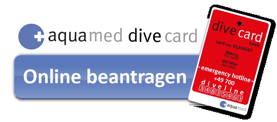 AQUA MED DIVE CARD