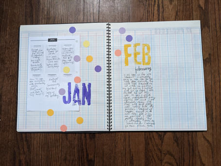 CREATIVE: Word of the Year Scrapbook