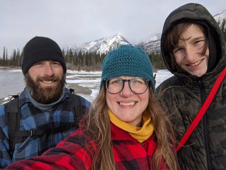 Family Fall Adventure in Jasper National Park