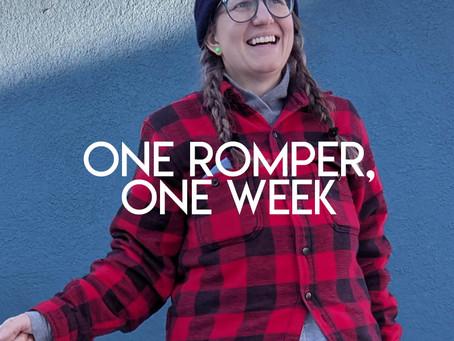One Romper, One Week