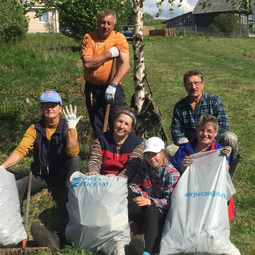 ТОС «Гавриловка» участвуют в экологических акциях