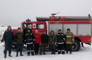 ТОС «Simänniemen hieru – деревня Симон-Наволок» организовали пожарную команду