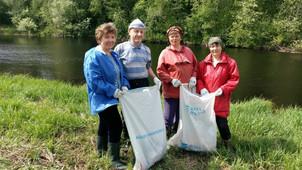 ТОС «Simänniemen hieru – деревня Симон-Наволок» участвуют в экоологических акциях
