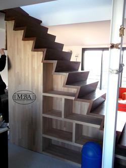 Escalier sur mesure - Particulier