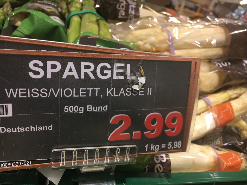 Europe is Obsessed with Spargel!