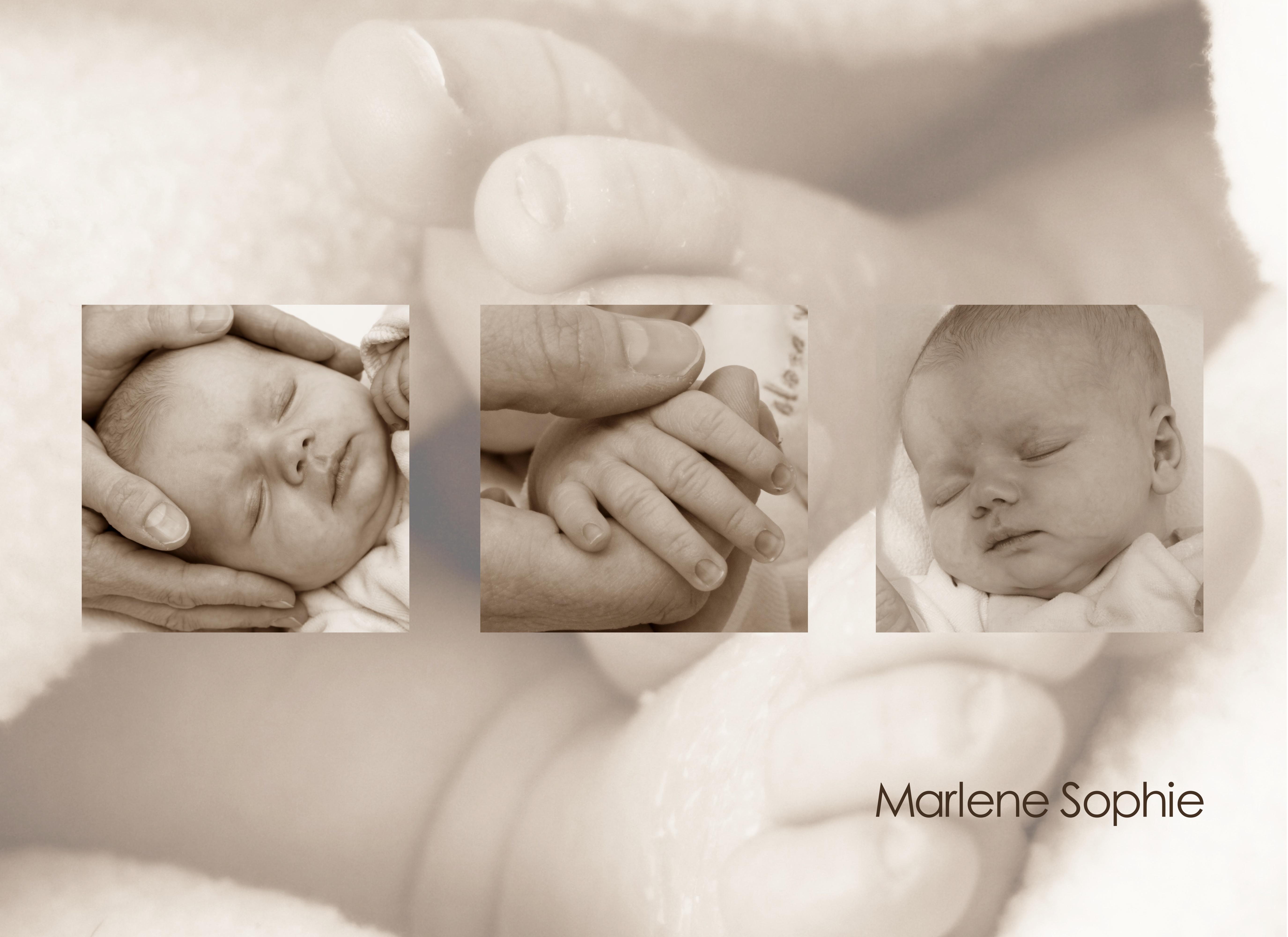 Muster Geburt mit Bild