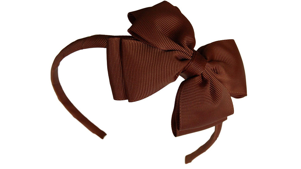headband brown
