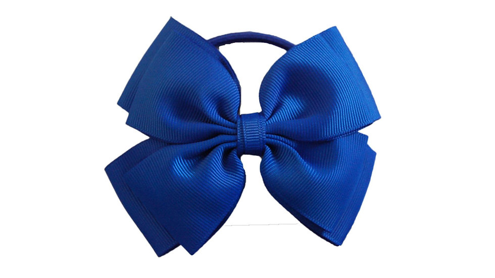 hair bobble royal blue