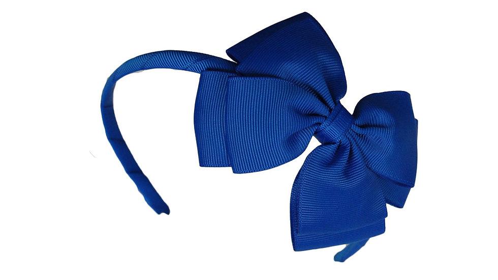 headband royal blue
