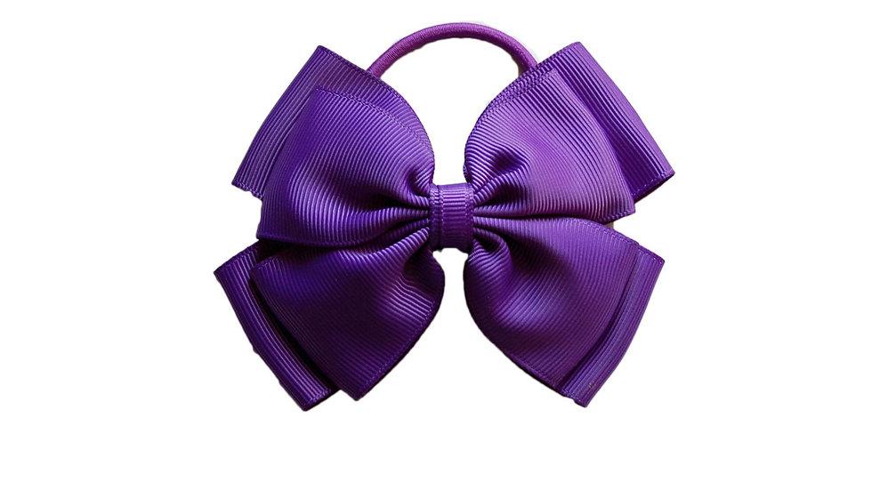 hair bobble purple