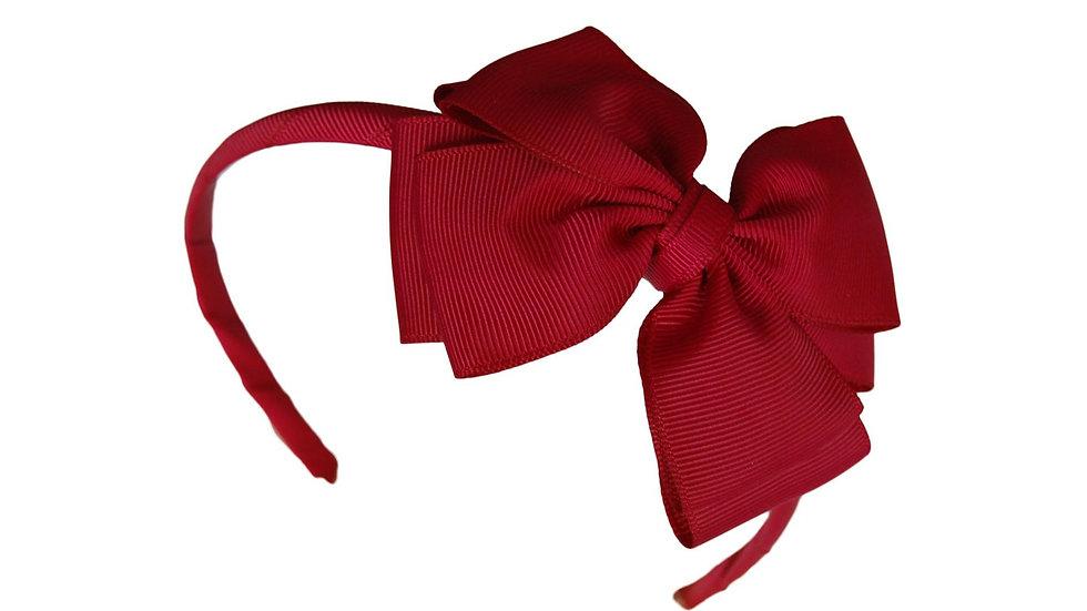 headband maroon
