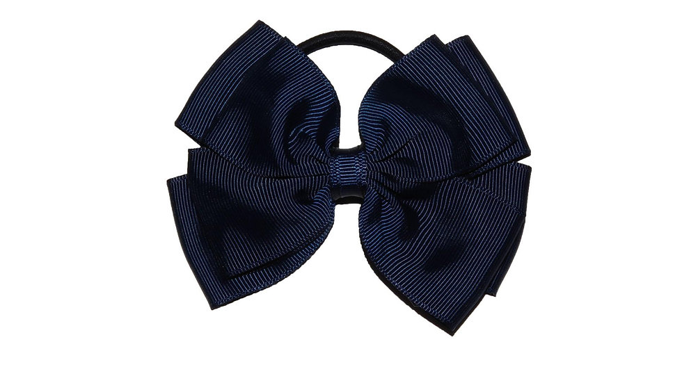 hair bobble navy