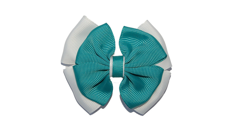 hair clip jade white