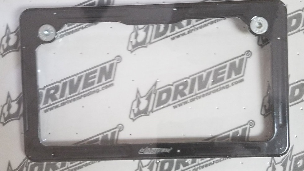 Driven License Plate Frame