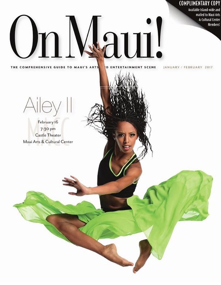 On Maui! Magazine Cover