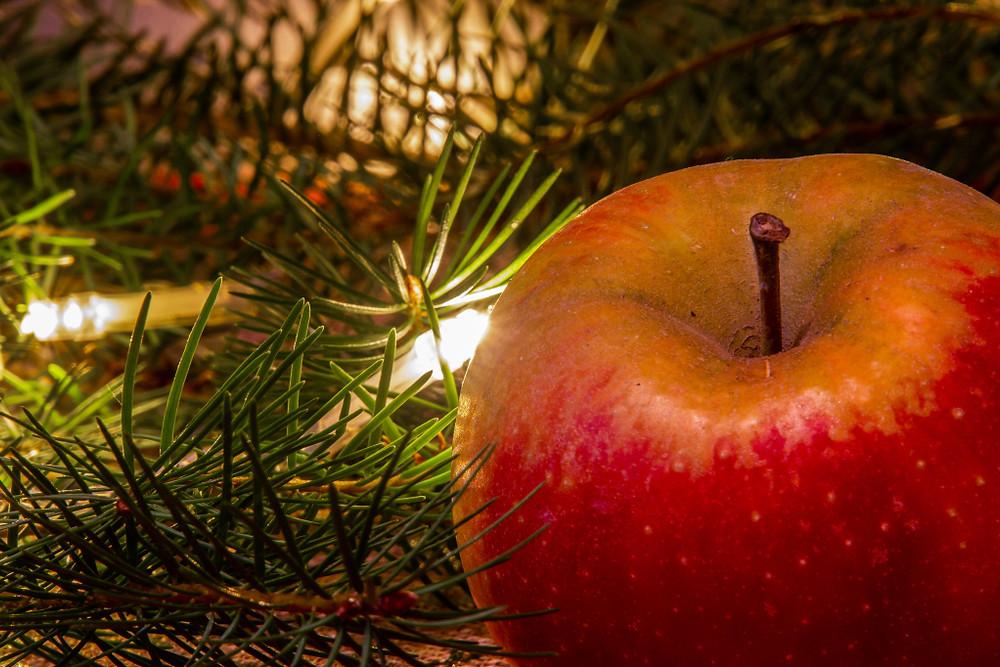 Dômes de pommes aux sirop d'érable et noix de pécan