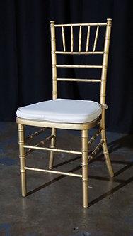 Gold Chiavair Chair For Sale
